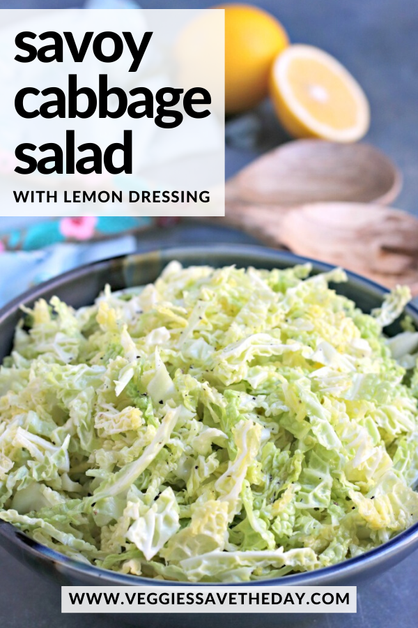 Savoy Cabbage Salad With Lemon Vinaigrette Recipe Raw Cabbage Recipe Cabbage Recipes Healthy Cabbage Salad