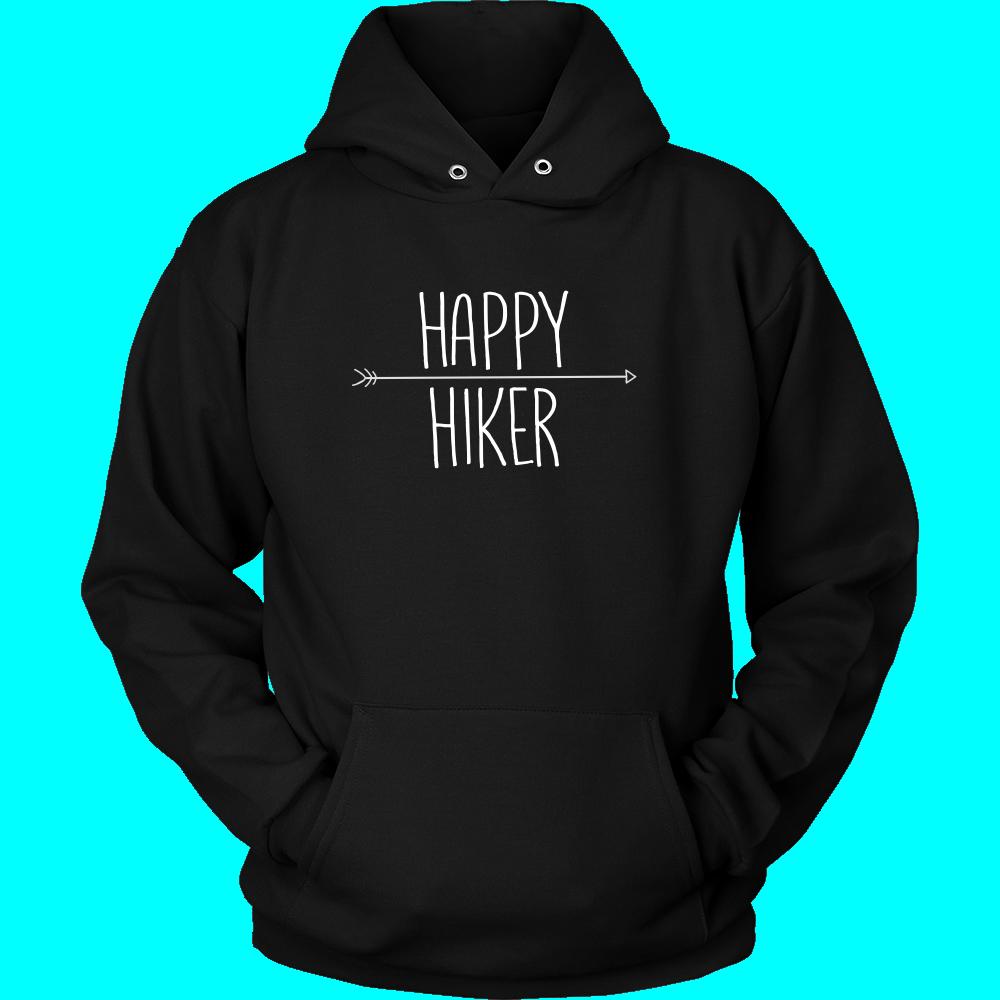 Happy Hiker Unisex Hoodie Unicorn shirt, Hoodies, Shirts