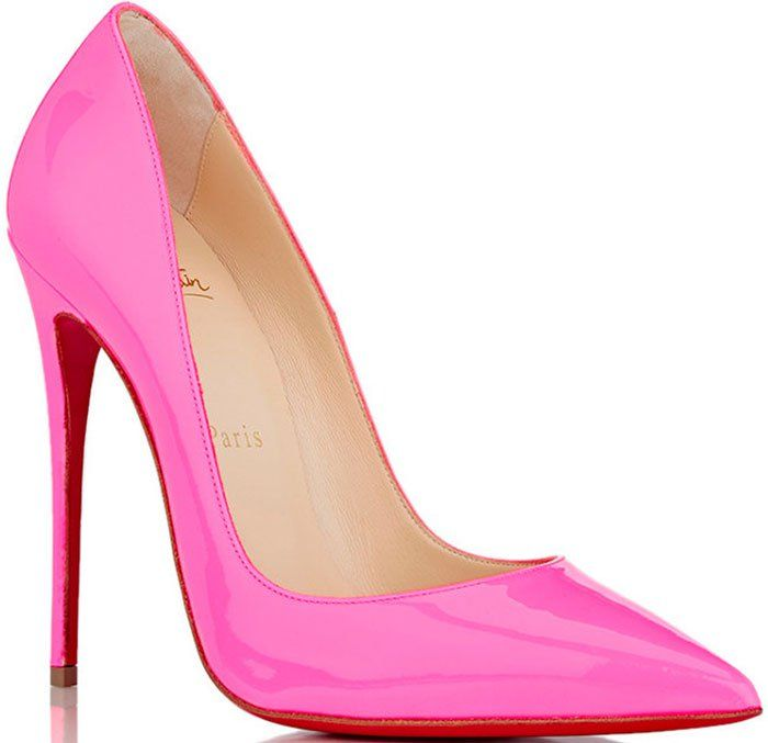 timeless design 59c63 c39a3 Christian-Louboutin-So-Kate-Pink-Patent-Pumps | Shoes Make ...