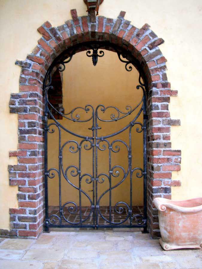 Vineyard Estate Gate