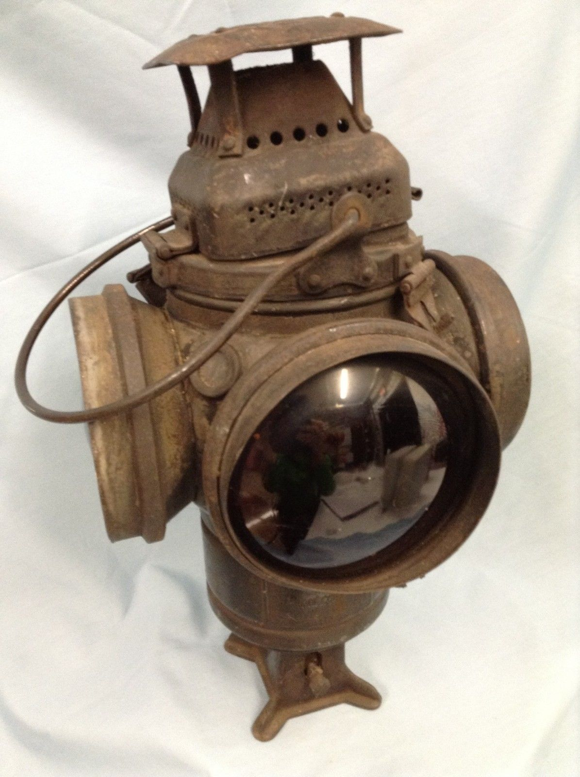 Railroad Lantern Adlake Non Sweating Lamp Chicago | eBay ...