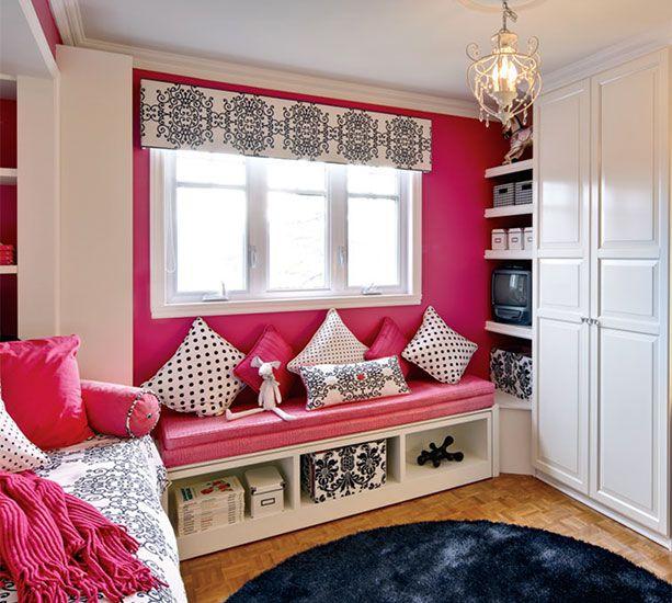 10 intérieurs avec des décors aux couleurs vives rose et fuchsia