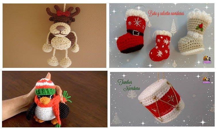 Patrones de Amigurumis para Navidad | Pinterest | Para navidad ...