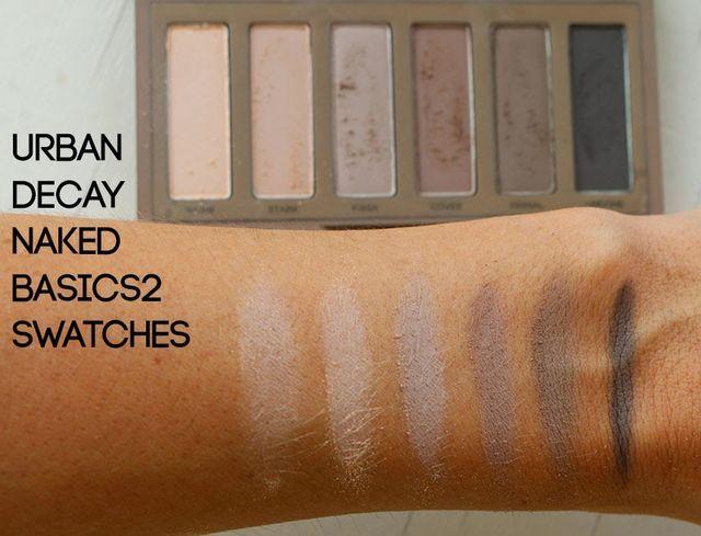 The New naked Basic palette!
