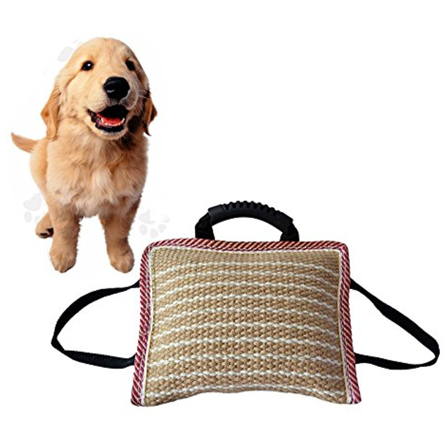 Pet Supplies Imported Hemp Training Bite Pillow To View