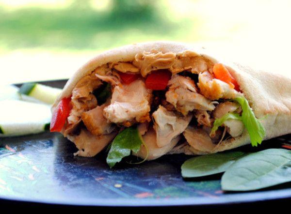Oriental Chicken Sandwich