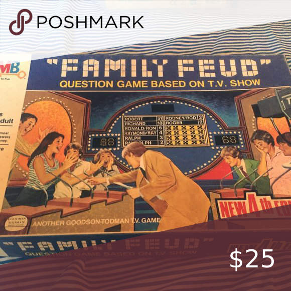 1981 4th Edition Family Feud Game in 2020 Family feud