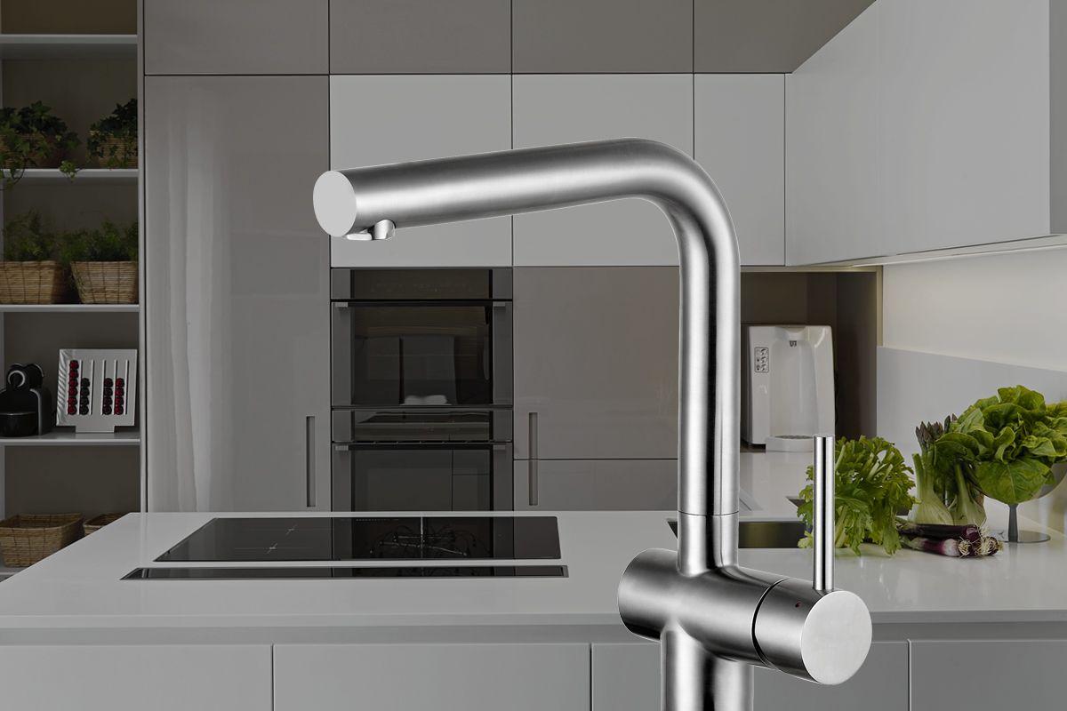 Water-saving tap from Caressi | Caressi kitchen taps | Pinterest ...