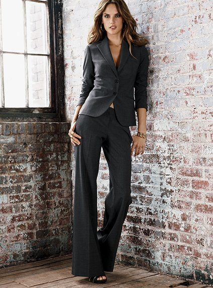 Every business woman needs perfectly tailored suit in their ...