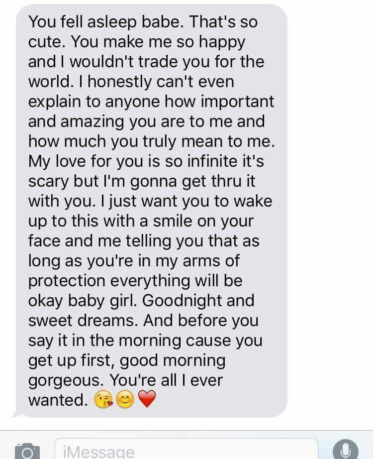 Sweet love paragraphs