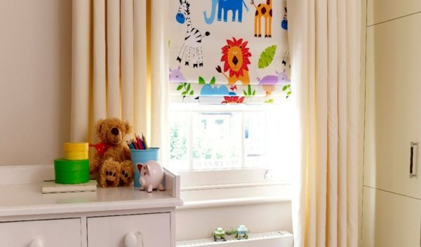 dschungeltiere motive raffrollos kinderzimmer pinterest raffrollo dschungeltiere und. Black Bedroom Furniture Sets. Home Design Ideas