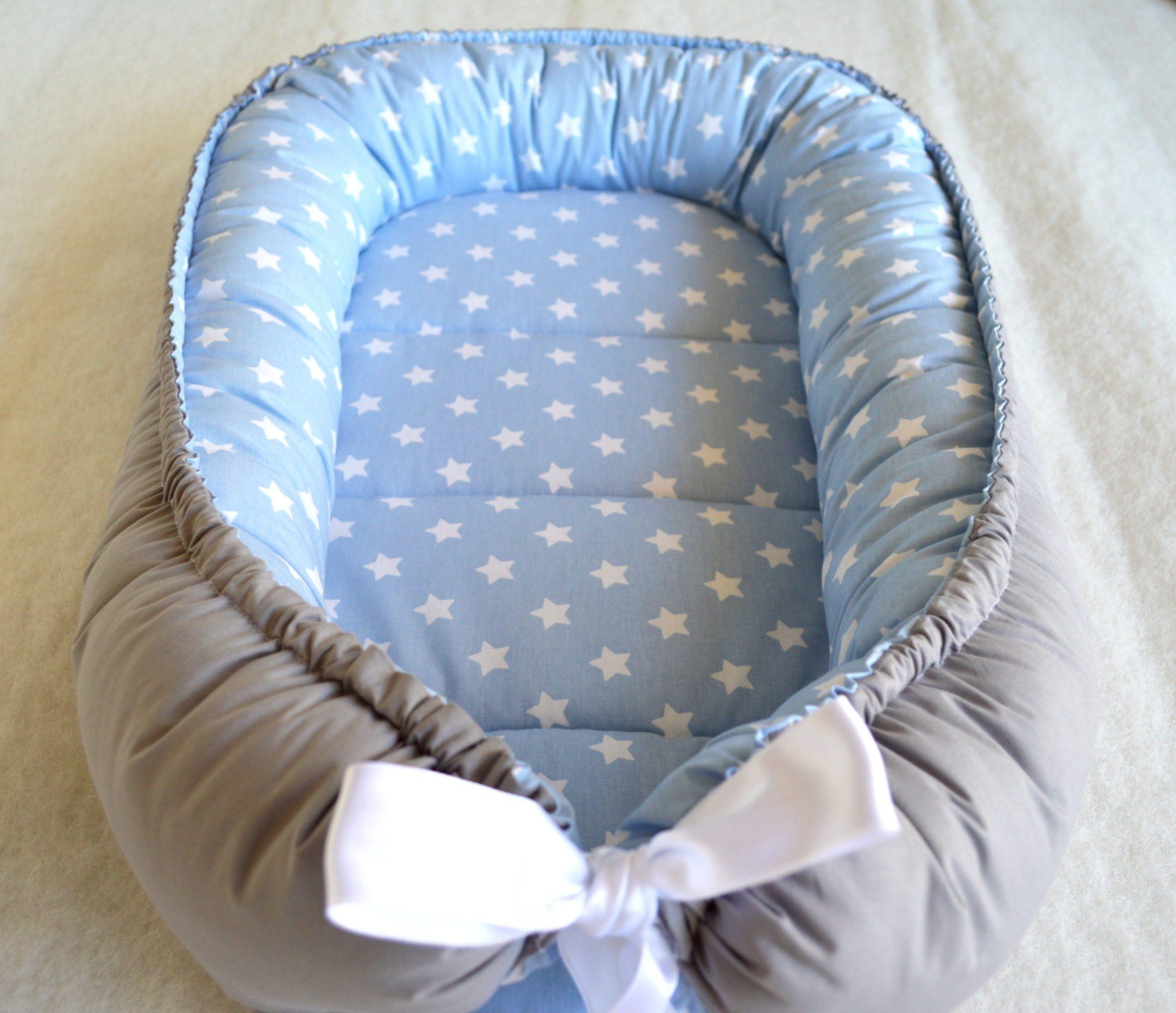Baby Nest Bed Silver Gray Babynest Newborn Baby Boy Baby Girl