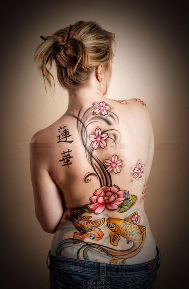 50 Sexy Lower Back Tattoos for Women | Tattooton | Tattoo ...