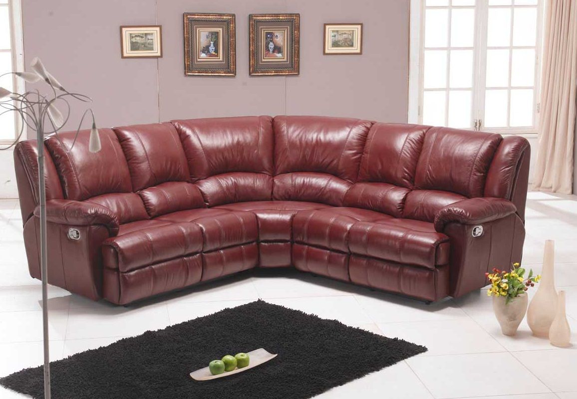 Fine Cherry Red Leather Sofa , Fresh Cherry Red Leather ...