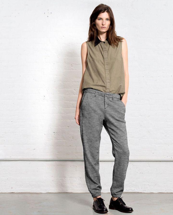 Pajama Jean - Houndstooth