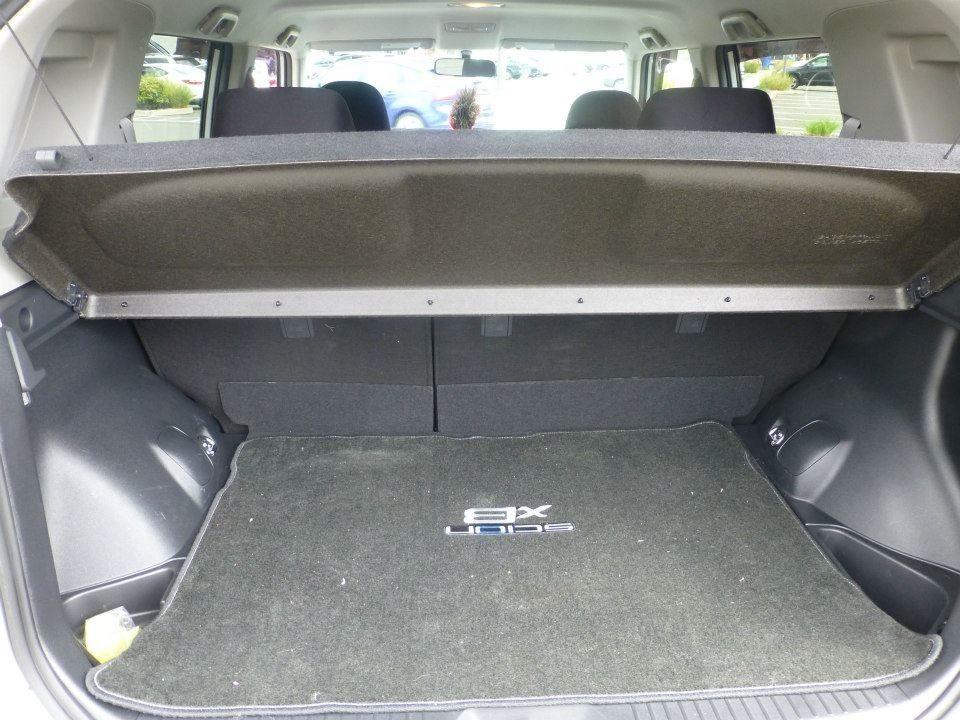 Rear Cargo Cover Up In Scion Xb Cargo Cover Scion Xb Outdoor Decor