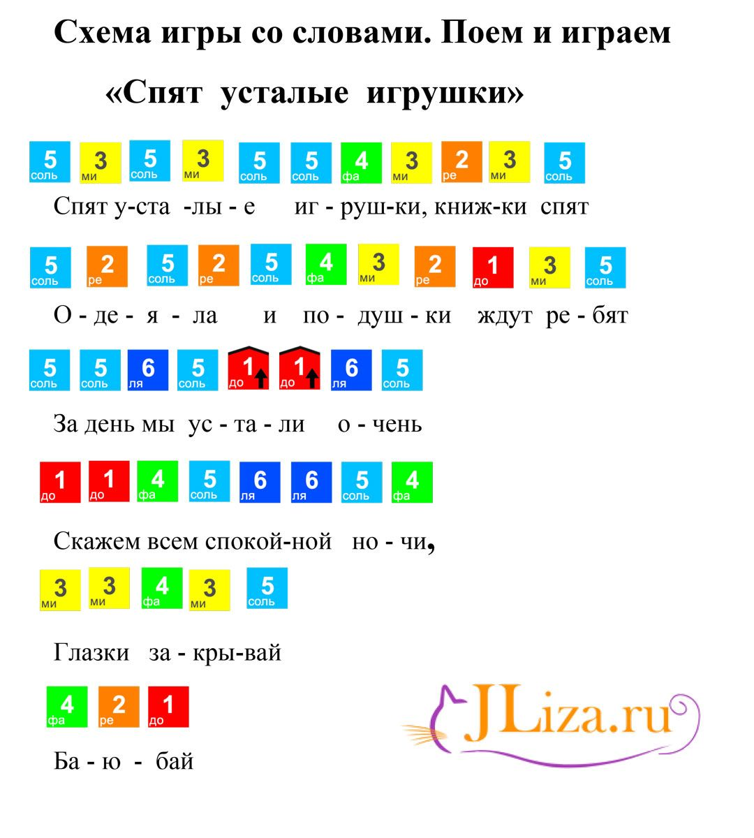 Spyat Ustalye Igrushki Noty Pianino Pesni Noty