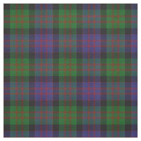 Clan Macdonald Scottish Tartan Plaid Fabric Fabriccrafts Diyprojects