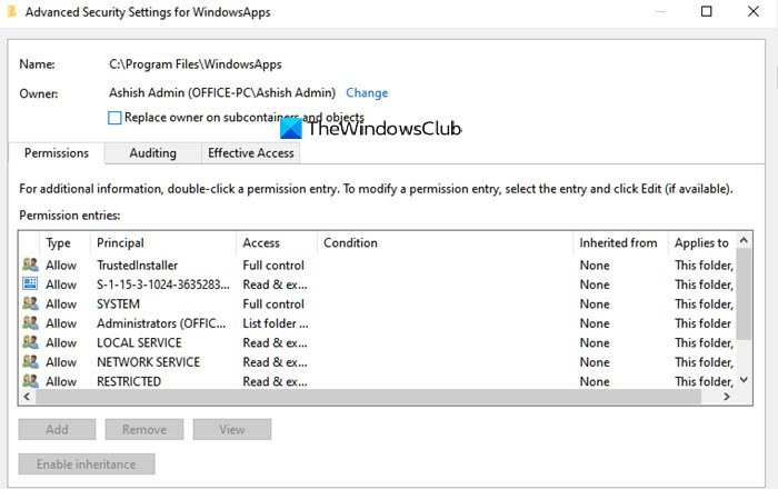 6294f81714bfdbd3bbd48dd8a23d6e41 - How To Get Access To Windowsapps Folder In Windows 10