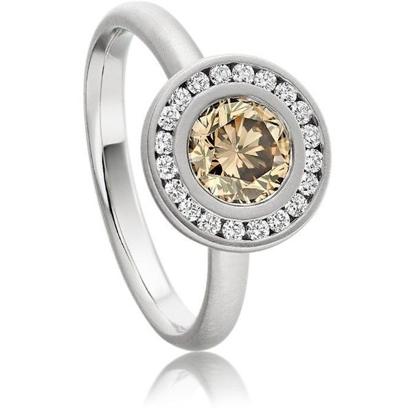 Anne Sportun Cognac Arma Ring found on Polyvore. WANT
