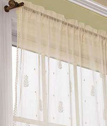 Pineapple Lace Rod Pocket Panel Curtains Country Curtains Curtains Living Room