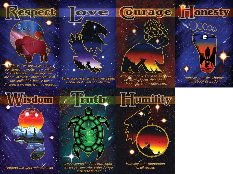 A While Take On The Seven Teachings This Set Puts A Touch Of Zen