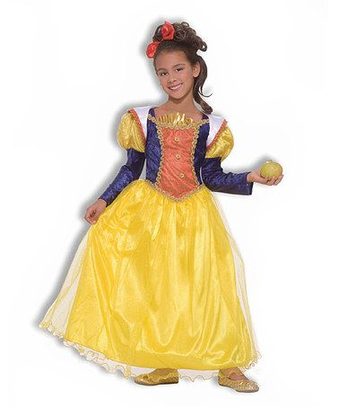 Take a look at this Yellow Snow White Dress-Up Set - Kids by Forum - princess halloween costume ideas