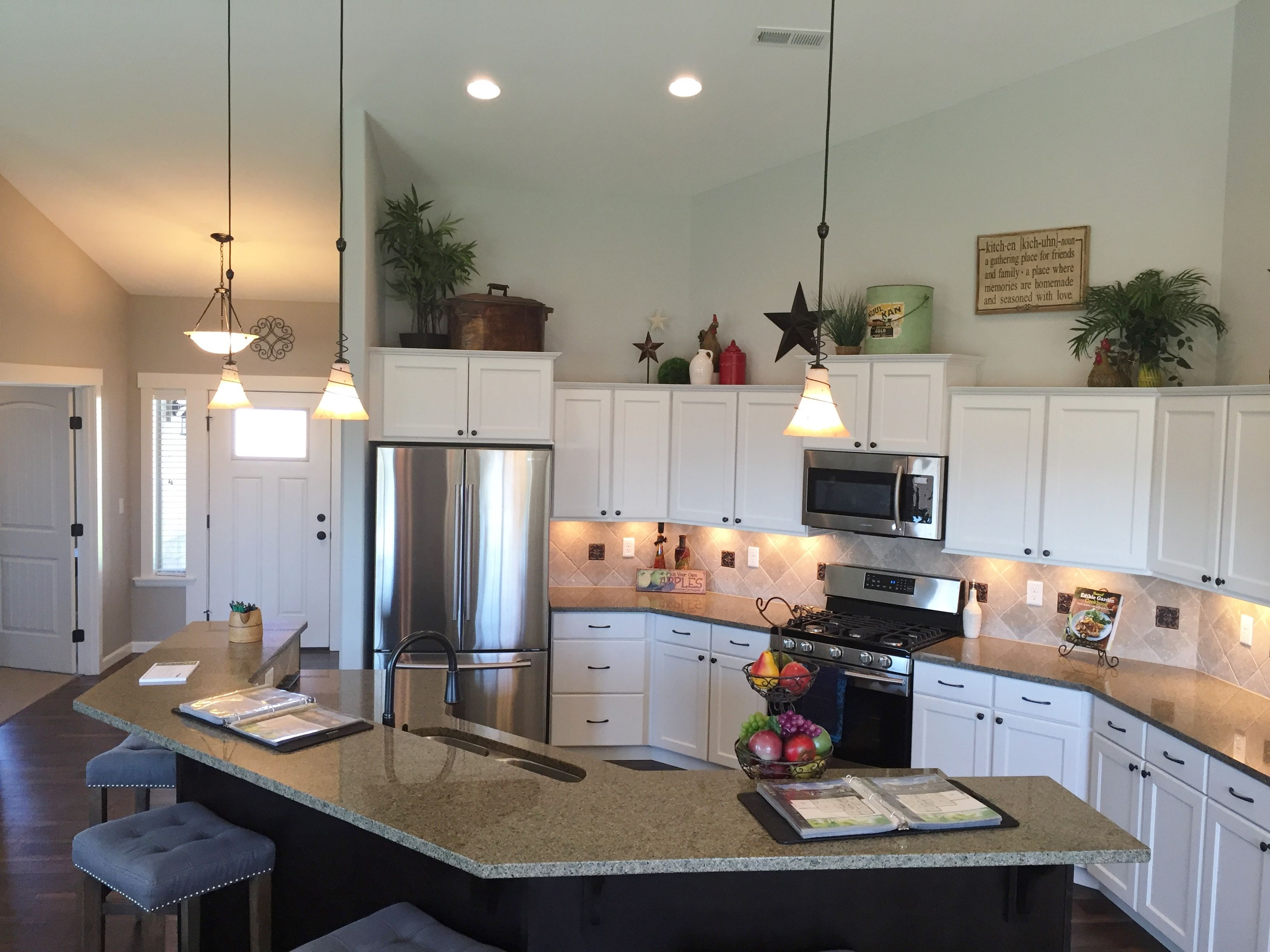 Kitchen Model Homes lexar model home 2057 kitchen | kitchen cabinets | pinterest