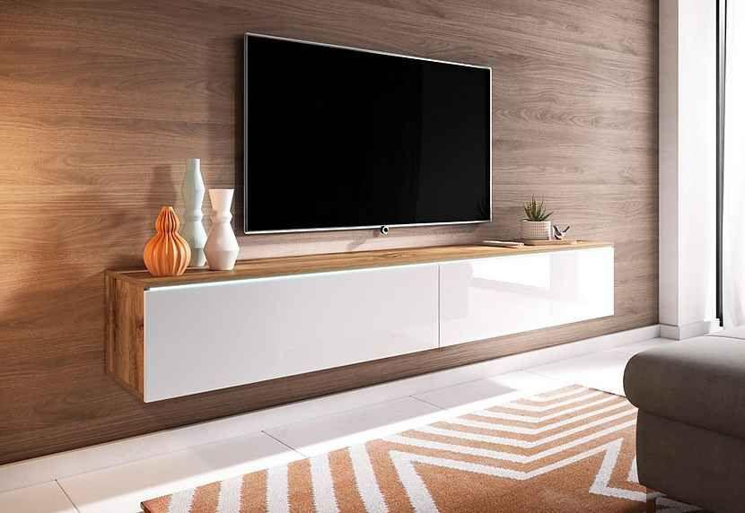 Lowboard Breite 180 Cm Masse B T H 180 33 30 Cm Online Kaufen
