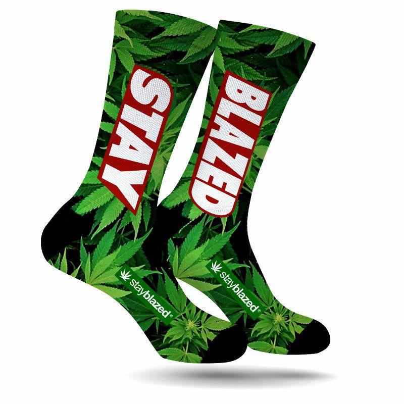 StonerDays STAY BLAZED Weed Socks Now Available Shopstonerdays Collections
