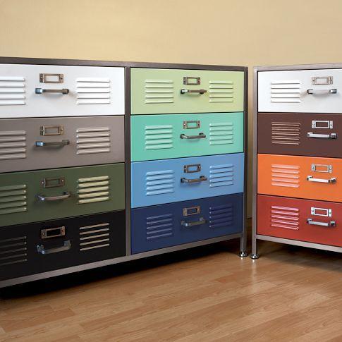 Locker Drawers Diy Room Decor For Teens Locker Dresser Diy