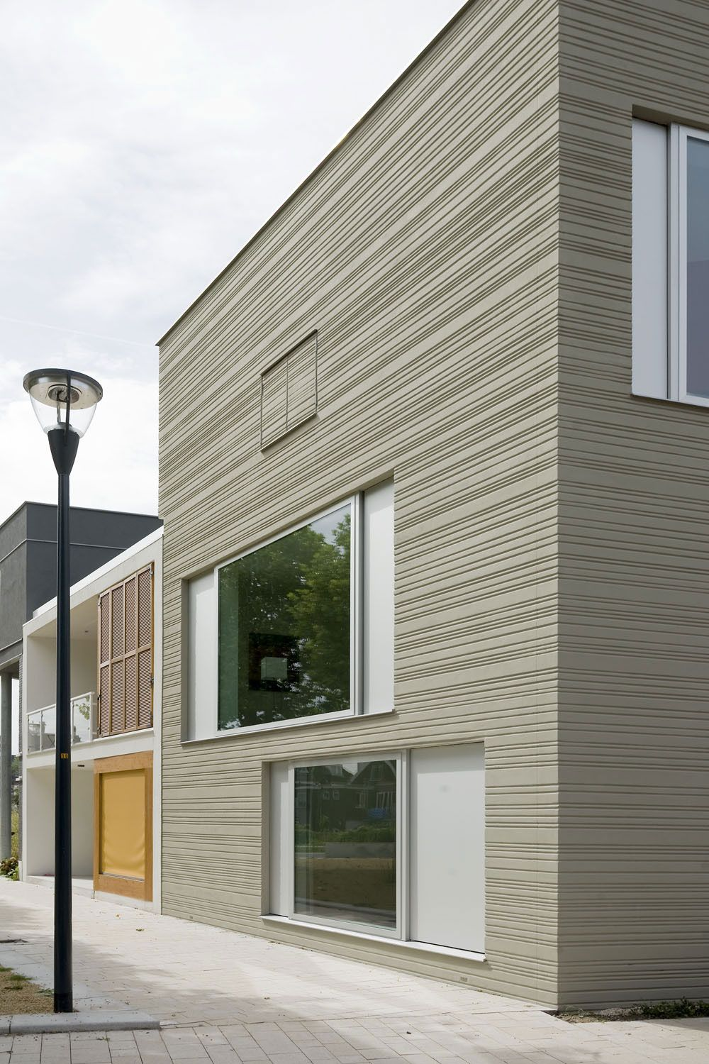 Eternit Fassade Sockel Stripe House 3 Outer Spaces Places Facade