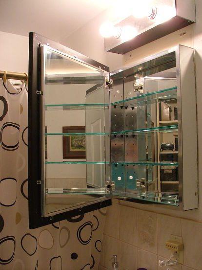 Old Medicine Cabinet Gets A Facelift For 30 With Images Old
