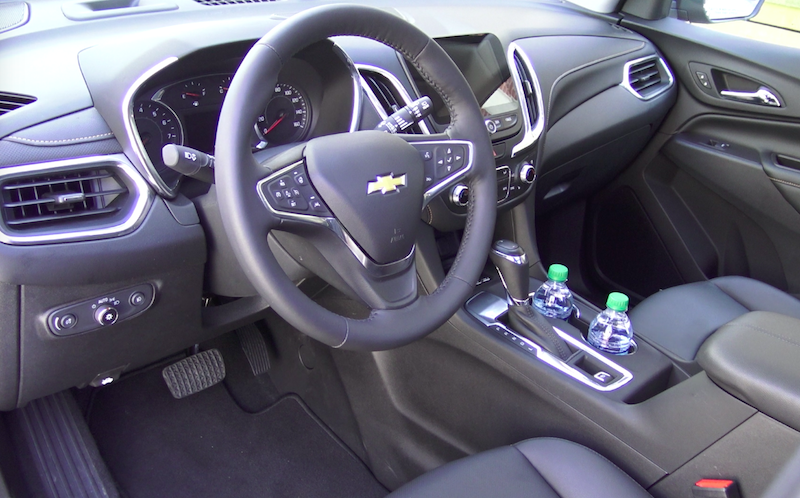 2018 chevy equinox suv crossover interior