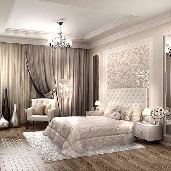 34 Amazing Luxury Master Bedroom Design Ideas 1 In 2020