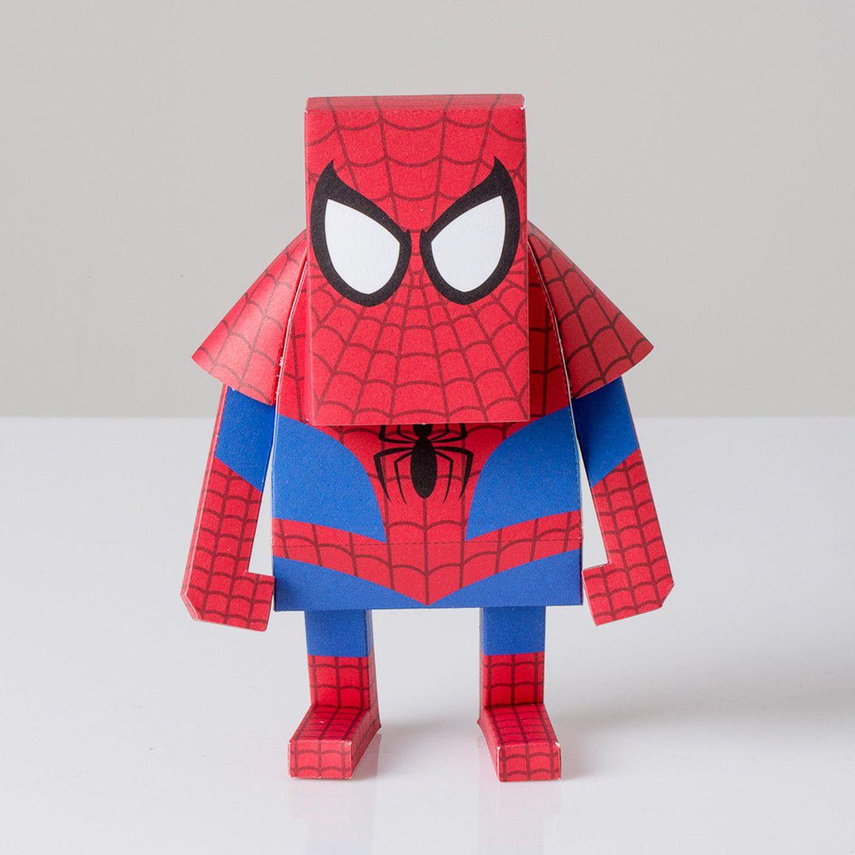 картинки человека-паука из бумаги