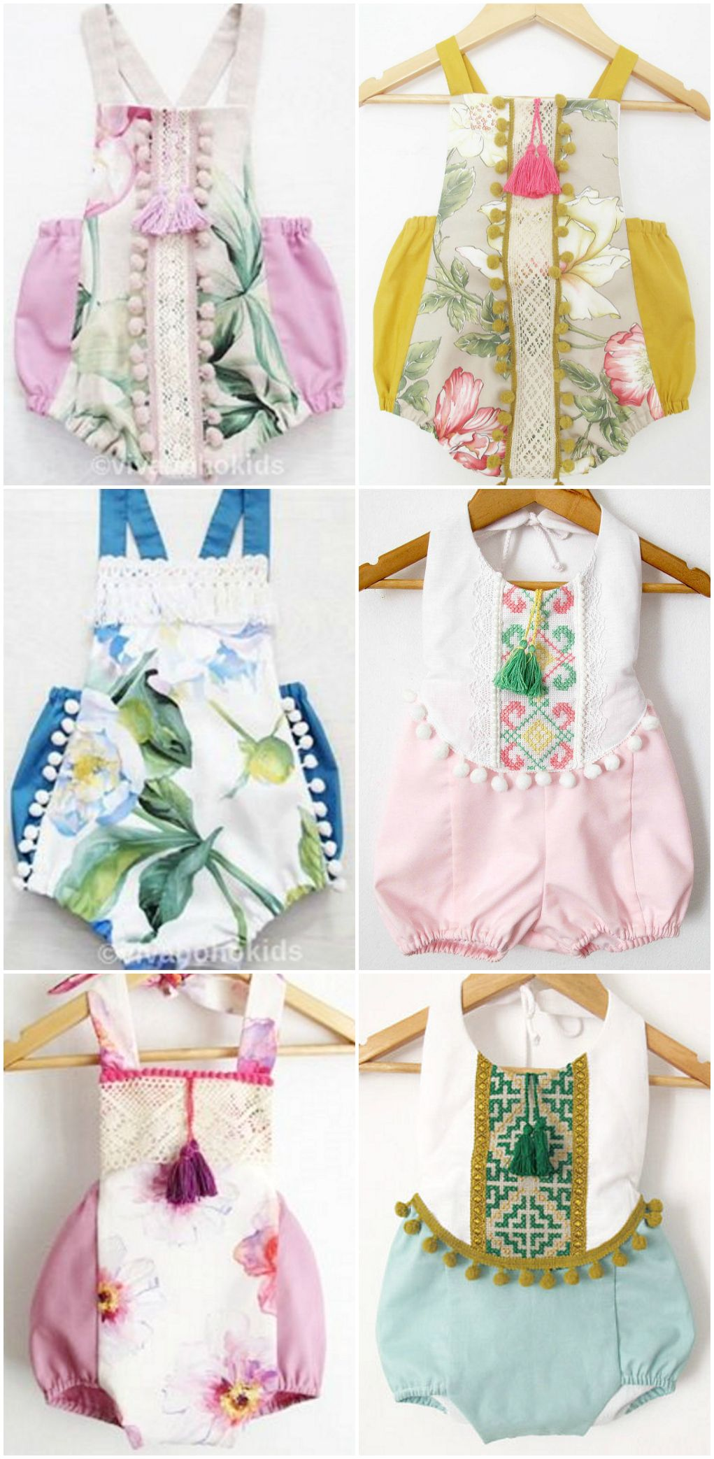 Featured Etsy Shop: Viva Boho Kids | Strampler, Baby nähen und ...