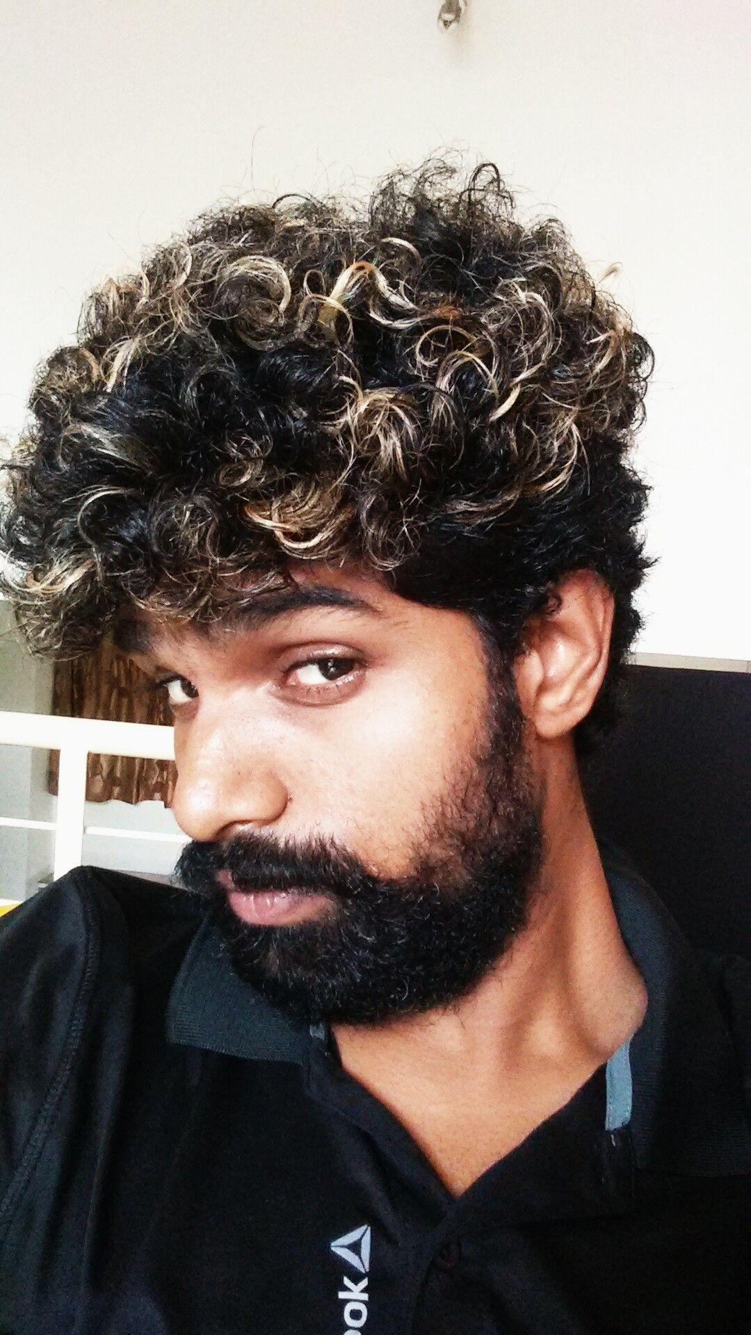manoj gowda #Hair coloring #beard style #mysore #manu #manoj gowda ...