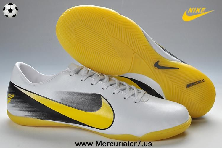 sale retailer 69c36 0c869 Christian Louboutin shoes on sale Nike CR Mercurial Vapor IC Indoor Boots -  White Black Yellow New Soccer Shoes 2013  Christian Louboutin Outlet - Nike  CR ...