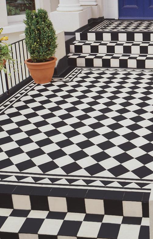 black and white floor tiles idea pinterest victorian floor tile patterns and tile patterns. Black Bedroom Furniture Sets. Home Design Ideas