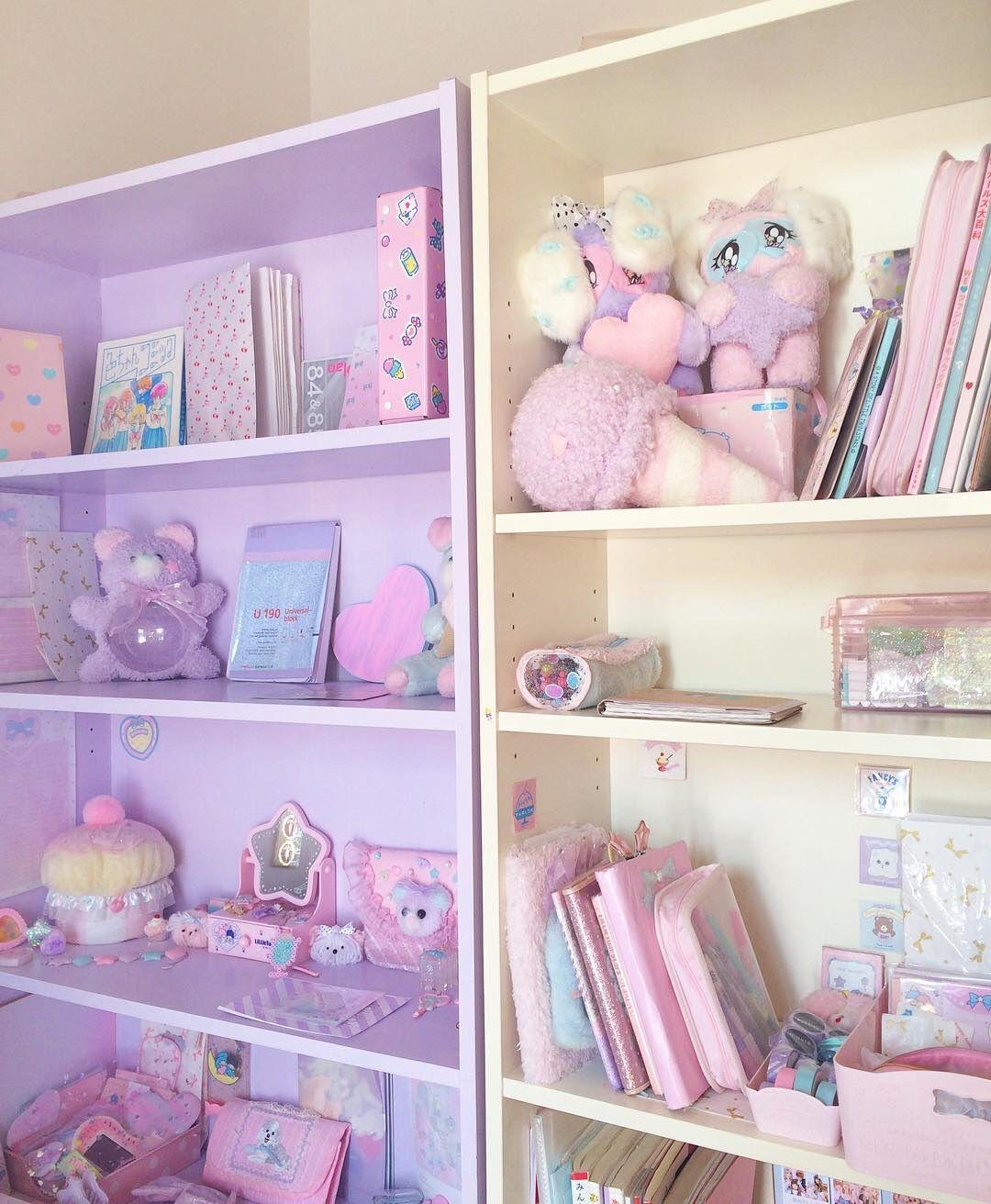 cute<3   kawaii bedrooms   Pinterest   Idées déco pour la chambre ...