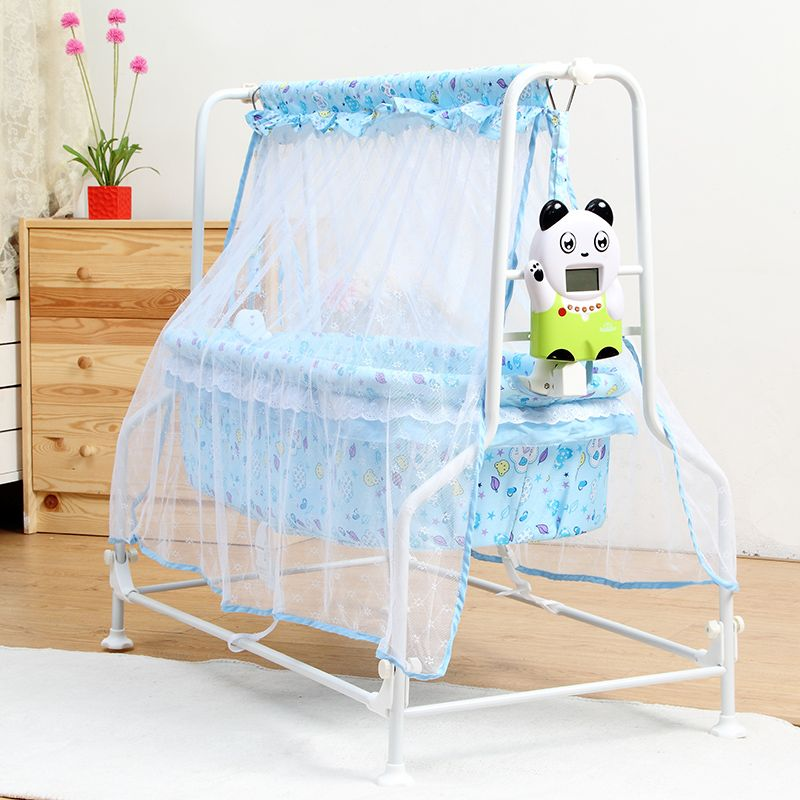 ikea hack New baby electric cradle infant comfortable bed pink blue color electric swing crib Intelligent Auto swing send mosquito net -- AliExpress ... & ikea hack New baby electric cradle infant comfortable bed pink ...