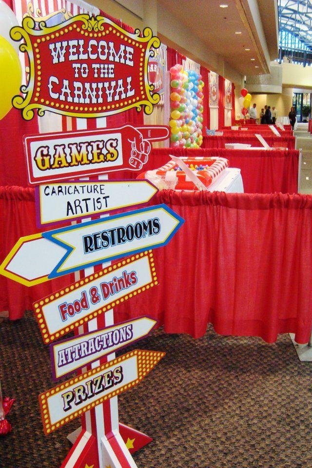 Carnival Employee Appreciation Event I love this idea