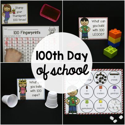 The Simplified Classroom: 100th Day of School Challenge