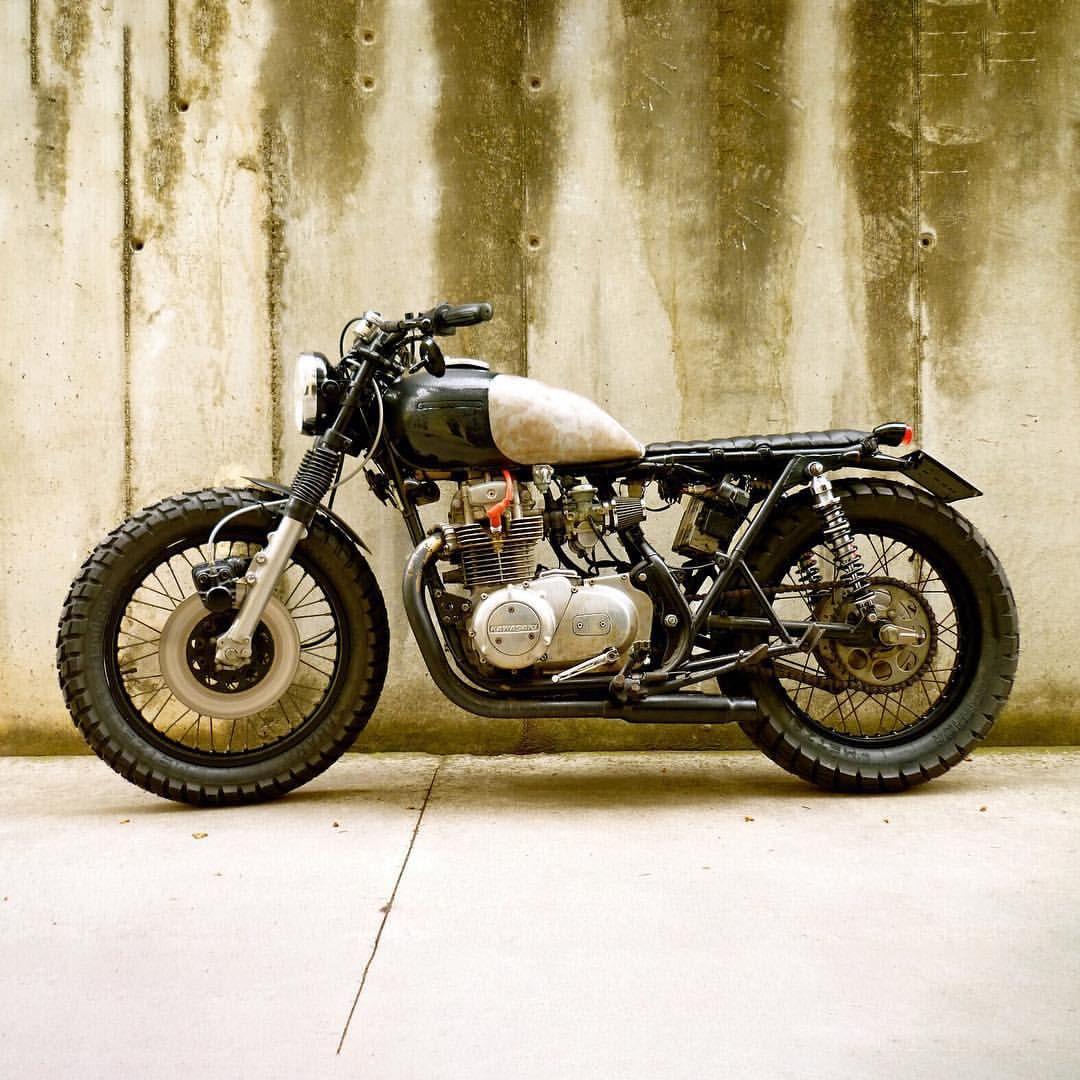 Great Work Matthew Manlius Stephen And Adrian Dropmoto Vintagemotorcycle Kawasaki Kz400 Tracker Brat Bratstyle Brattracker Builtnotbought
