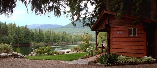 Lodging Clark Fork Idaho 83811 The Last Resort Cabin