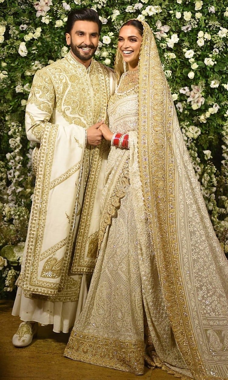 Shared By Shefzh Find Images And Videos About Bollywood Deepika Padukone And Ranveer Singh Deepika Padukone Dresses Wedding Dresses Men Indian Wedding Outfit