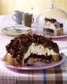 Unser beliebtes Rezept für Stracciatella-Kirsch-Torte und mehr als 55.000…