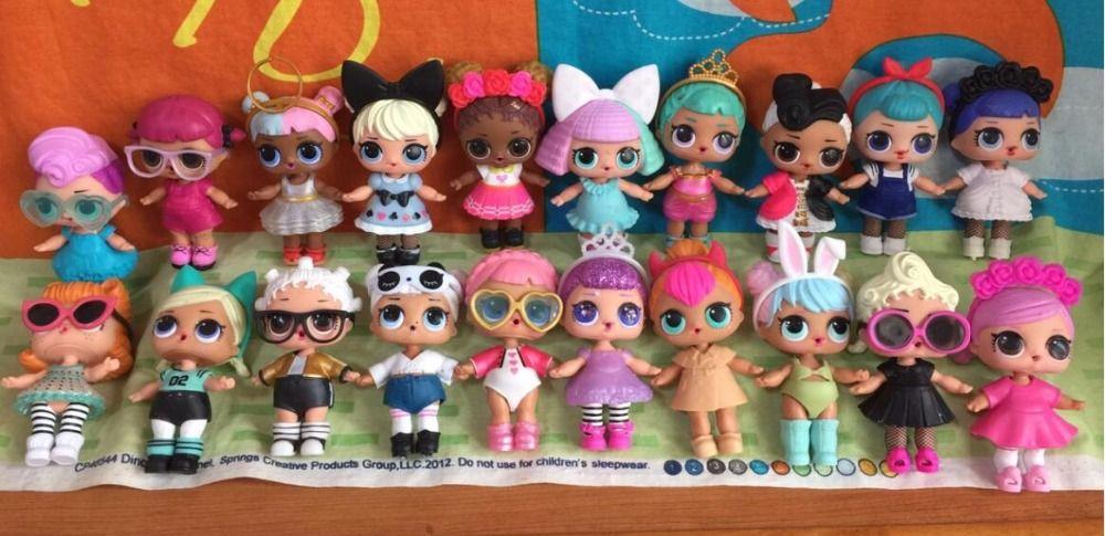 Gunstige Original Lol Puppe Nach Dem Zufall Senden Jede Puppe Hat Kleidung Schuhe Und Flaschen Kaufe Qualitat Action Spielzeugf Lol Puppen Spielzeug Puppen