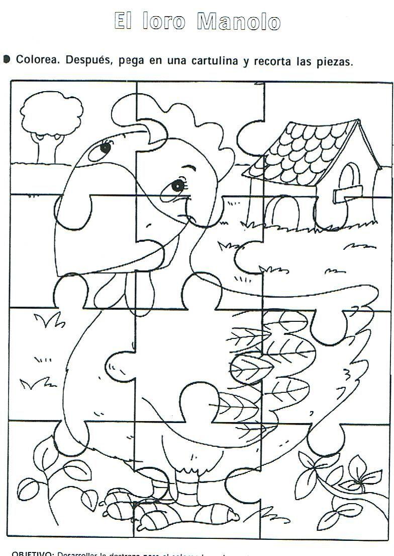 Recursos Rompecabezas Para Colorear La Eduteca Rompecabezas Para Colorear Rompecabezas Para Imprimir Rompecabezas